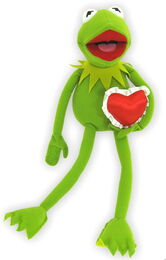Just play 2014 kermit valentines plush