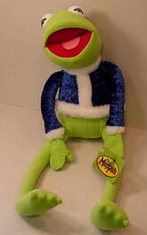 Toy factory 2007 plush christmas kermit
