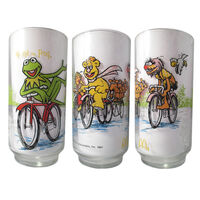 Mcdonalds glasses bicycles