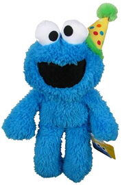 Gund 2015 happy birthday take along cookie monster