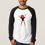 Zazzle animal waving shirt