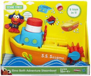 HasbroPlayskool-SesameStreet-Figures-Elmo-Bath-Adventure-Steamboat02