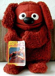 Fisher-price plush rowlf puppet