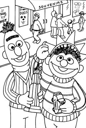 new york city coloring pages - photo#27