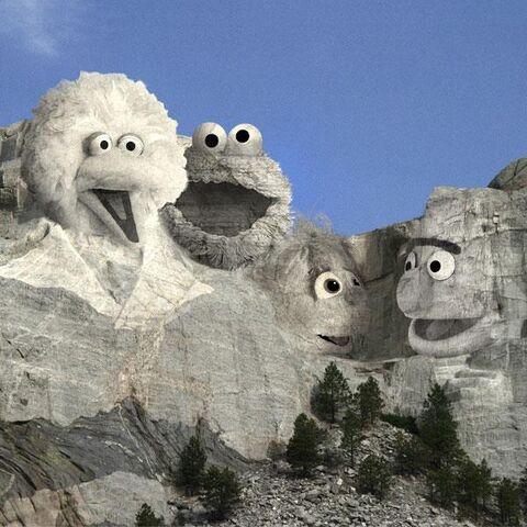 File:Sesame Rushmore Presidents Day 2017.jpg