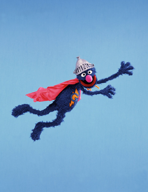 Super Grover in flight