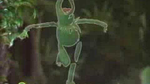 Sesame Street Kermit Sings Disco Frog