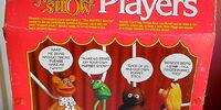 Muppet Show Stick Puppets