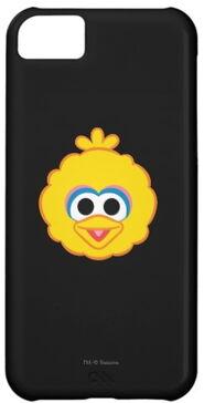 Zazzle big bird smiling face