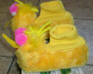 J c penneys 1973 big bird slippers 3