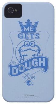 Zazzle cookie monster me gets dough