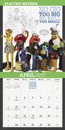 Muppets 2017 calendar 3