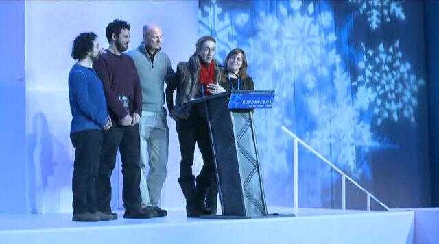File:SundanceFilmFestival2011-BeingElmo-SpecialJuryPrize-Acceptance.jpg