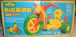 Coleco 1983 big bird power cycle big wheel