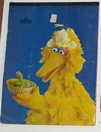 Aladdin 1977 big bird drawing pad paper crafts