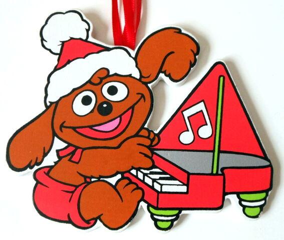 File:Kurt adler flat muppet babies christmas ornament rowlf.jpg
