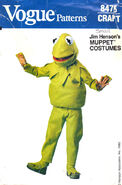 Kermit costume pattern