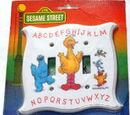 Sesame Street switch plates (Peter Pan)
