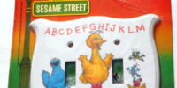 Sesame Street switch plates (Peter Pan)