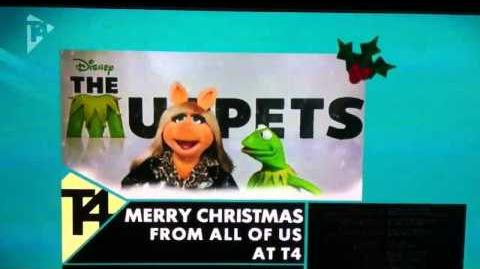 Muppets UK TV T4 Christmas greeting 2