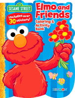 Bendon 2012 Bendon-Publishing-Intl-Sesame-Street-Shaped-Coloring-and-Activity-Book