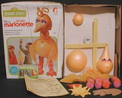 Friends1977BigBirdMarionette