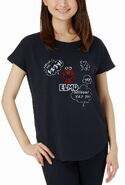Mono comme ca ism japan 2013 t-shirt elmo blue