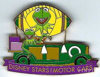 Kermit parade pin