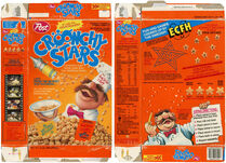 Croonchy Stars box - stoopid games