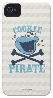Zazzle cookie pirate