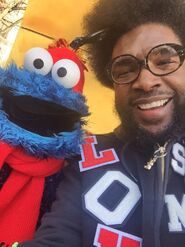 Questlove cookie macy's thanksgiving parade 2015