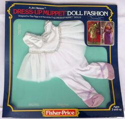 Fisher-price 1981 miss piggy dress up muppet doll 5