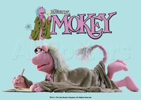 Poster Fraggle Rock-Mokey