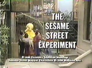 TheSesameStreetExperiment