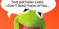 Muppet greeting cards (American Greetings)