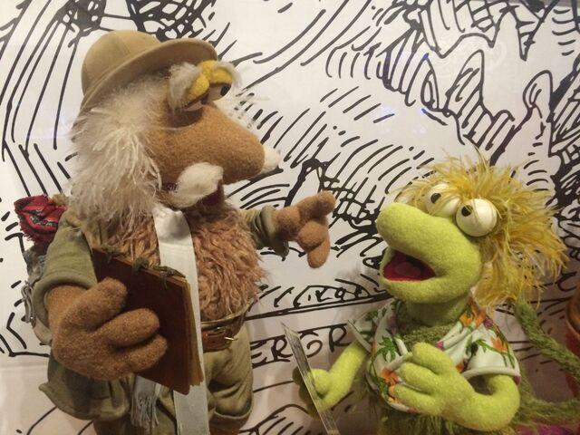 File:Center for Puppetry Arts - Fraggle Rock - Matt & Wembley.jpg