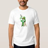 Zazzle 2 kermit banjo shirt