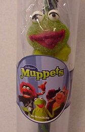 Asher candy 2003 kermit gumdrop candy cane 1