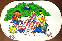 1976 placemat
