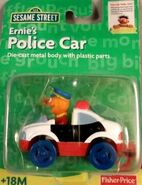 Green pkg ernie police car