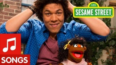 Sesame Street I Love My Hair Song (Mando's Spanish Version)