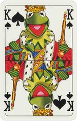 1978 playing cards King Spades