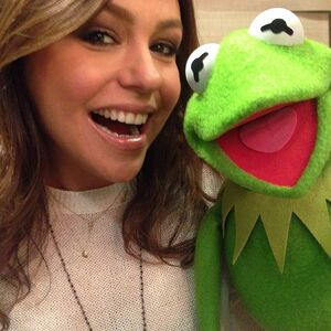 Rachael Ray and Kermit March 2014