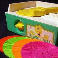 Sesame Street Music Box Record Player