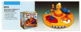 Illco 1992 bath toys tub puzzle