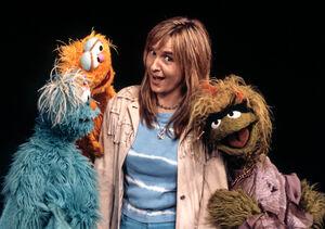 Melissa Etheridge and Sesame girls