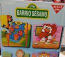 Barrio Sésamo puzzles (Educa)