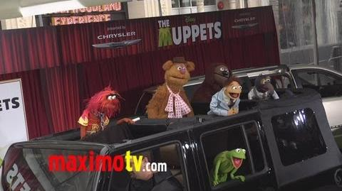 "The Muppets at ""The Muppets"" World Premiere Arrivals"