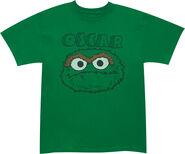 Tshirt-oscarheadgreen