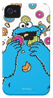 Zazzle cookie monster donut destroyer